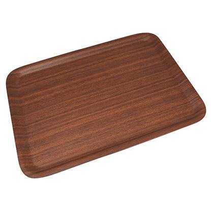 Picture of LAMINATED WOOD TRAY 48 X 37cm 19in X 15in
