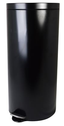 Picture of PEDAL BIN ROUND BLACK 30ltr
