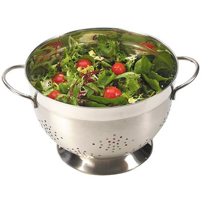Picture of COLANDER SATIN WIRE HANDLES 24cm 9.5in