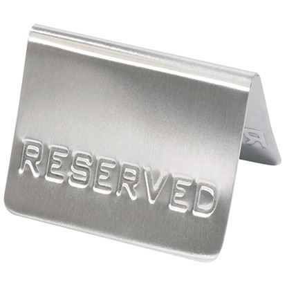 Picture of RESERVED SIGN PACK OF 10