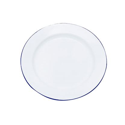 Picture of ENAMEL ROUND PLATE 25.5cm