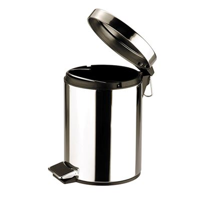 Picture of PEDAL BIN ROUND St St MIRROR 3ltr