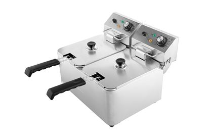 Picture of ZYCO  DOUBLE FRYER 4 litres per fryer