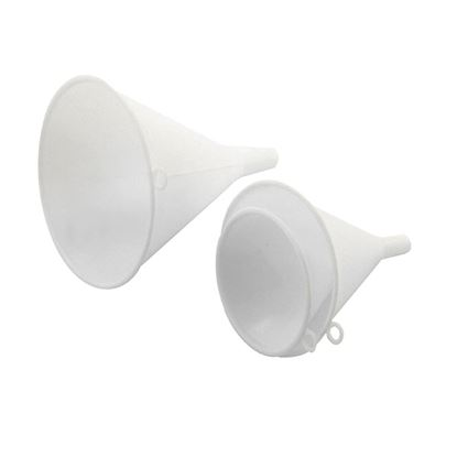Picture of WHITE FUNNELS SET OF 3
