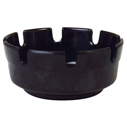 Picture of MELAMINE OUTDOOR ASHTRAY BLACK