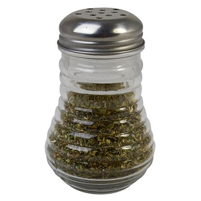 Picture of RIBBED GLASS SHAKERS 4 PACK
