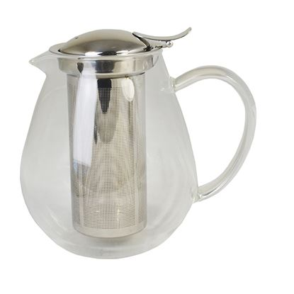 Picture of GLASS TEAPOT & S/S STRAINER 0.8ltr/ 27oz