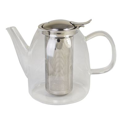 Picture of GLASS TEAPOT WITH SPOUT & S/S STRAINER 0.8ltr/ 27oz