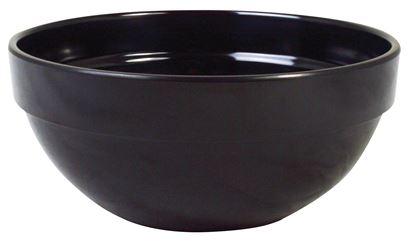 Picture of BLACK MELAMINE BOWL 14CM