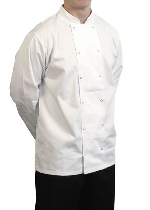 Picture of JACKET FULL SLEEVE WHITE LARGE 60x76CM