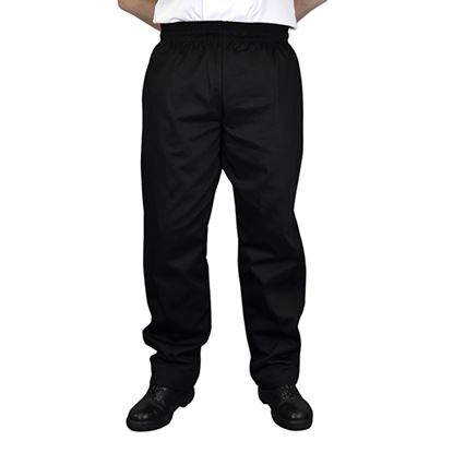 Picture of BLACK BAGGY TROUSER MEDIUM 34-36in