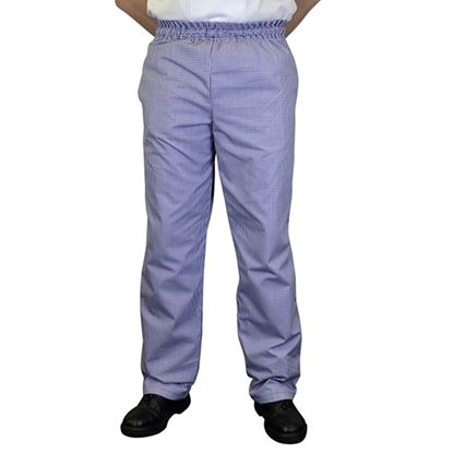 Picture of BLUE CHECK BAGGY X-LARGE 42-44in