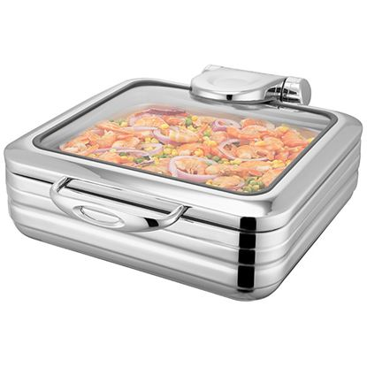 Picture of SICILY S/S INDUCTION CHAFER 2/3 5.5ltr