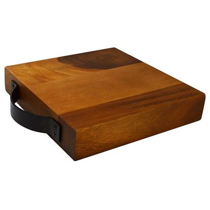 Picture of ACACIA WOODEN BLOCK 23 X 23cm