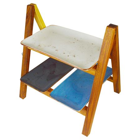 Picture of ACACIA WOOD DISPLAY STAND 38cm X 30cm X 40cm