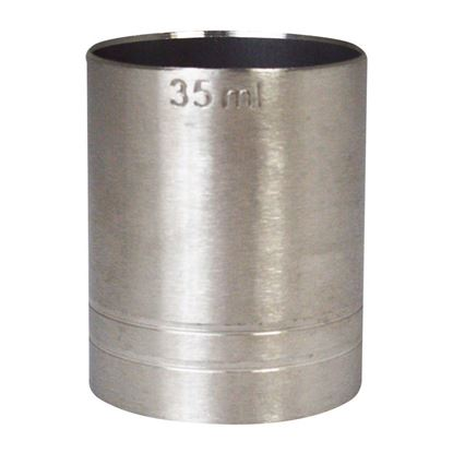 Picture of STAINLESS STEEL SPIRIT MEASURE 35ml