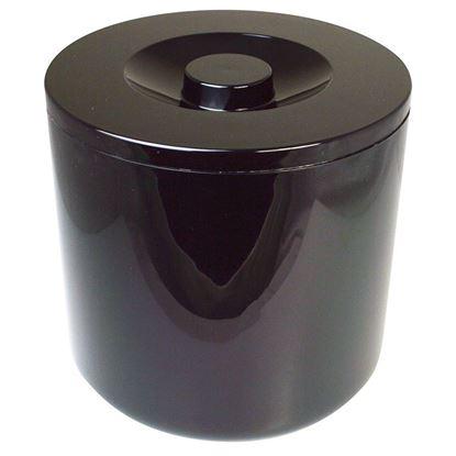 Picture of ROUND PLASTIC ICE BUCKET BLACK