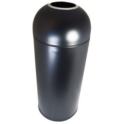 Picture of BLACK OPEN TOP BIN Dia. 39cm H 89cm